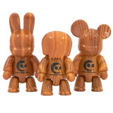 "2.5"" QEE WOOD GRAIN SERIES SINGLE FIGURE"