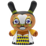 3-INCH DUNNY MARDIVALE SERIES HARLEQUIN YELLOW