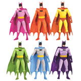 RAINBOW BATMAN ACTION FIGURE SET