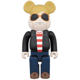 BE@RBRICK 400% ANDY WARHOL 60'S STYLE