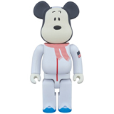 BE@RBRICK 400% PEANUTS ASTRONAUT SNOOPY