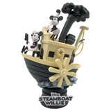 DISNEY D-STAGE STEAMBOAT WILLIE DIORAMA