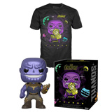 POP! & TEE BOX AVENGERS INFINITY WAR THANOS METALLIC L