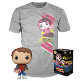 POP! & TEE BOX BACK TO THE FUTURE MARTY W/ HOVERBOARD L