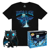 POP! & TEE BOX GAME OF THRONES ICY VISERION GID L