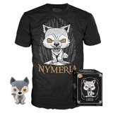 POP! & TEE BOX GAME OF THRONES NYMERIA M