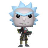 POP! ANIMATION RICK AND MORTY WEAPONIZED RICK