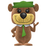 POP! ANIMATION HANNA & BARBERA YOGI BEAR FLOCKED
