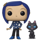 POP! ANIMATION CORALINE W/ CAT