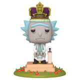 POP! ANIMATION RICK AND MORTY RICK KING OF S#!+ W/ SOUND