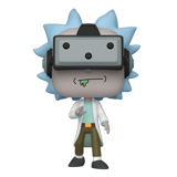 POP! ANIMATION RICK AND MORTY GAMER RICK