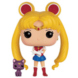 POP! ANIMATION SAILOR MOON SAILOR MOON & LUNA