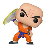 POP! ANIMATION DRAGON BALL Z KRILLIN W/ DESTRUCTO DISK