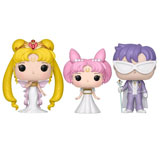 POP! ANIMATION SAILOR MOON SERENITY, SMALL LADY & ENDYMION