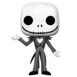 POP! DISNEY NBX JACK SKELLINGTON GLITTER DAMAGED BOX