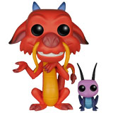 POP! DISNEY MULAN MUSHU & CRICKET