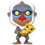 POP! DISNEY THE LION KING RAFIKI WITH SIMBA