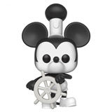 POP! DISNEY MICKEY MOUSE STEAMBOAT WILLIE