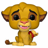 POP! DISNEY THE LION KING SIMBA W/ GRUB