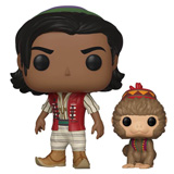 POP! DISNEY ALADDIN OF AGRABAH W/ ABU
