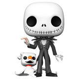 POP! DISNEY NBX JACK SKELLINGTON W/ ZERO 10-INCH