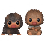 POP! FANTASTIC BEASTS BABY NIFFLERS BROWN AND TAN 2-PACK