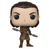 POP! GAME OF THRONES ARYA STARK W/ TWO HEADED SPEAR