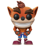 POP! GAMES CRASH BANDICOOT FLOCKED