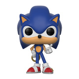 POP! GAMES SONIC THE HEDGEHOG SONIC W/ RING