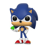 POP! GAMES SONIC THE HEDGEHOG SONIC W/ EMERALD