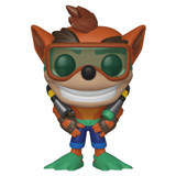 POP! GAMES CRASH BANDICOOT W/ SCUBA GEAR