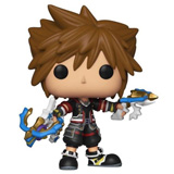 POP! GAMES KINGDOM HEARTS III SORA W/ DOUBLE BLASTERS