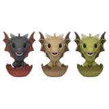 POP! GAME OF THRONES DROGON VISERION RHAEGAL HATCHING 3-PACK