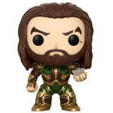 POP! HEROES JUSTICE LEAGUE AQUAMAN AND MOTHERBOX