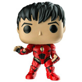 POP! HEROES JUSTICE LEAGUE THE FLASH UNMASKED