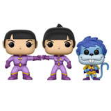 POP! HEROES WONDER TWINS 3-PACK