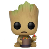 POP! MARVEL GUARDIANS OF THE GALAXY VOL. 2 GROOT W/ CANDY