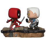 POP! MARVEL COMIC MOMENTS DEADPOOL VS CABLE