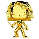 POP! MARVEL STUDIOS 10TH BLACK WIDOW GOLD CHROME