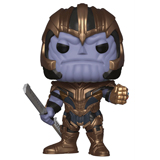 POP! MARVEL AVENGERS ENDGAME THANOS DAMAGED BOX
