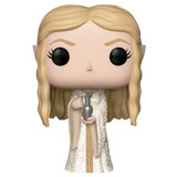 POP! MOVIES THE LORD OF THE RINGS GALADRIEL DAMAGED BOX