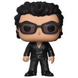 POP! MOVIES JURASSIC PARK DR. IAN MALCOLM DAMAGED BOX