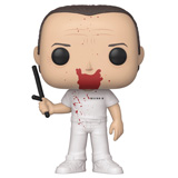 POP! MOVIES HANNIBAL LECTER JUMPSUIT BLOODY