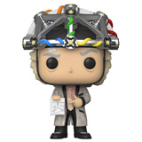 POP! MOVIES BACK TO THE FUTURE DOC W/ HELMET