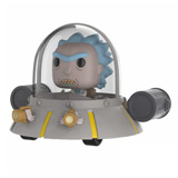 POP! RIDES RICK AND MORTY RICK'S SHIP
