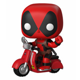 POP! RIDES DEADPOOL W/ SCOOTER