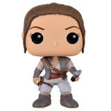 POP! STAR WARS VII REY W/ LUKE'S LIGHTSABER