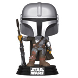 POP! STAR WARS THE MANDALORIAN GUN TO THE SIDE
