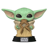 POP! STAR WARS THE MANDALORIAN THE CHILD W/ FROG