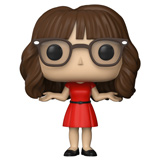 POP! TV NEW GIRL JESS DAMAGED BOX